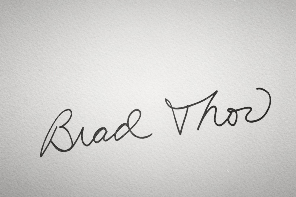 A Letter From Brad Thor