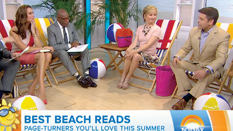 Brad discusses his summer reading picks on The Today Show