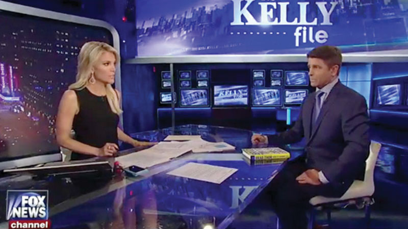 Brad's Interview with Megyn Kelly on The Kelly File