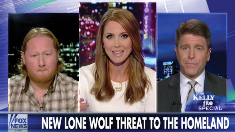 Brad Discusses Lone Wolves on The Kelly File