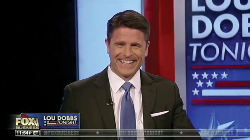 Brad on Lou Dobbs Tonight