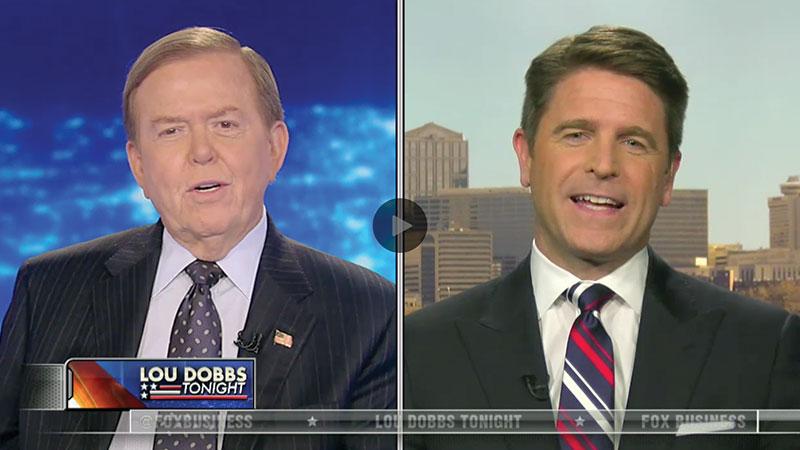 Brad Discusses GOP Candidates on Lou Dobbs