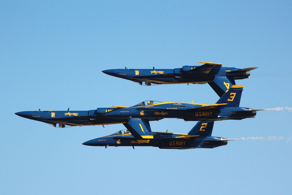 My Flight With the Blue Angels