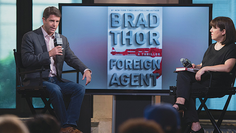 Brad at AOL in New York City