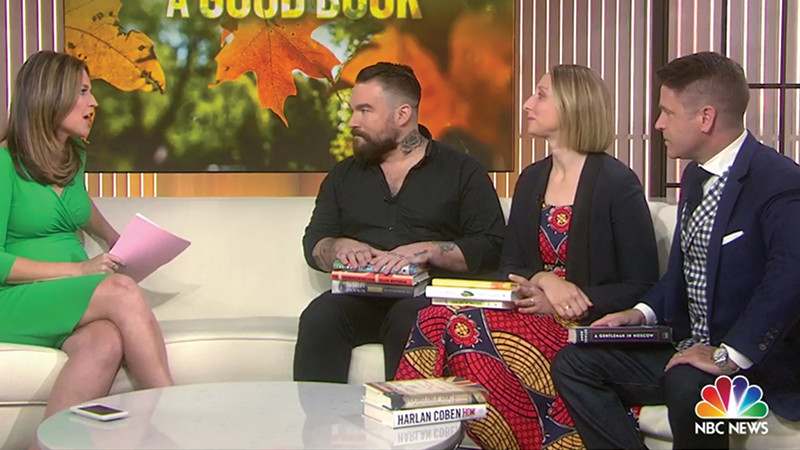 Today Show: Brad picks best fall books