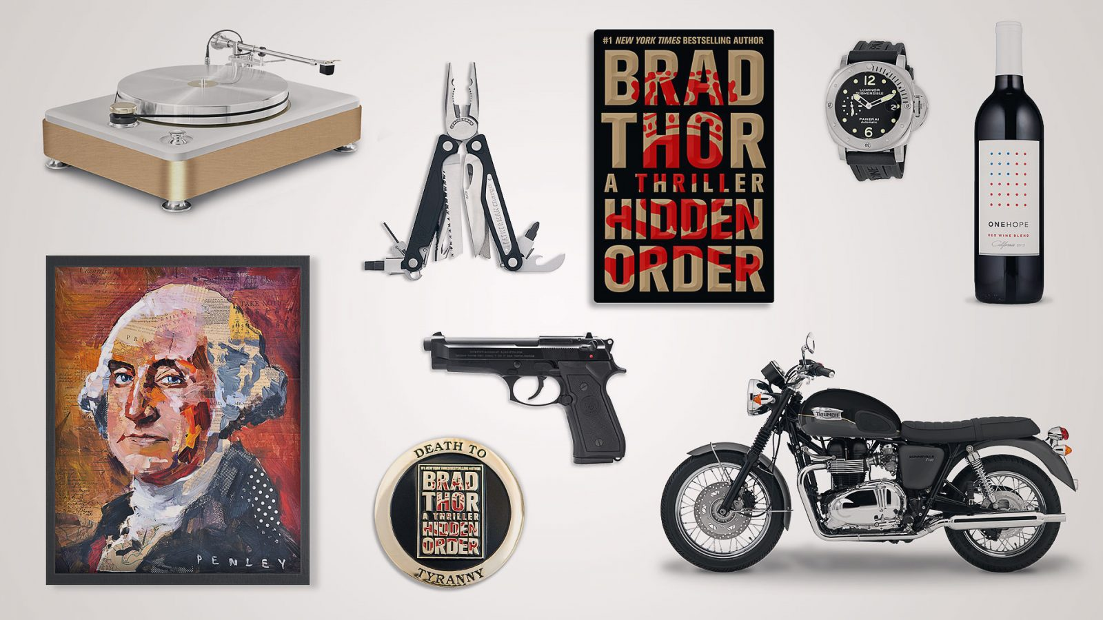 Top Gear from Brad Thor's Hidden Order