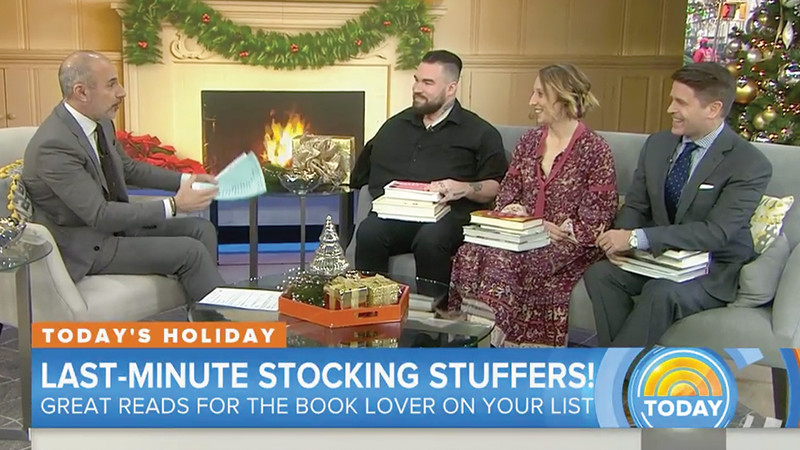 Brad Picks Great Gift Books On The Today Show
