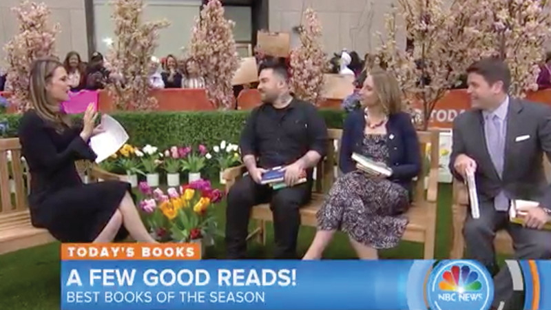 Today Show: Brad picks must-read books for spring