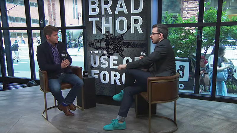 "Brad Discusses ""Use Of Force"" with AOL Build"