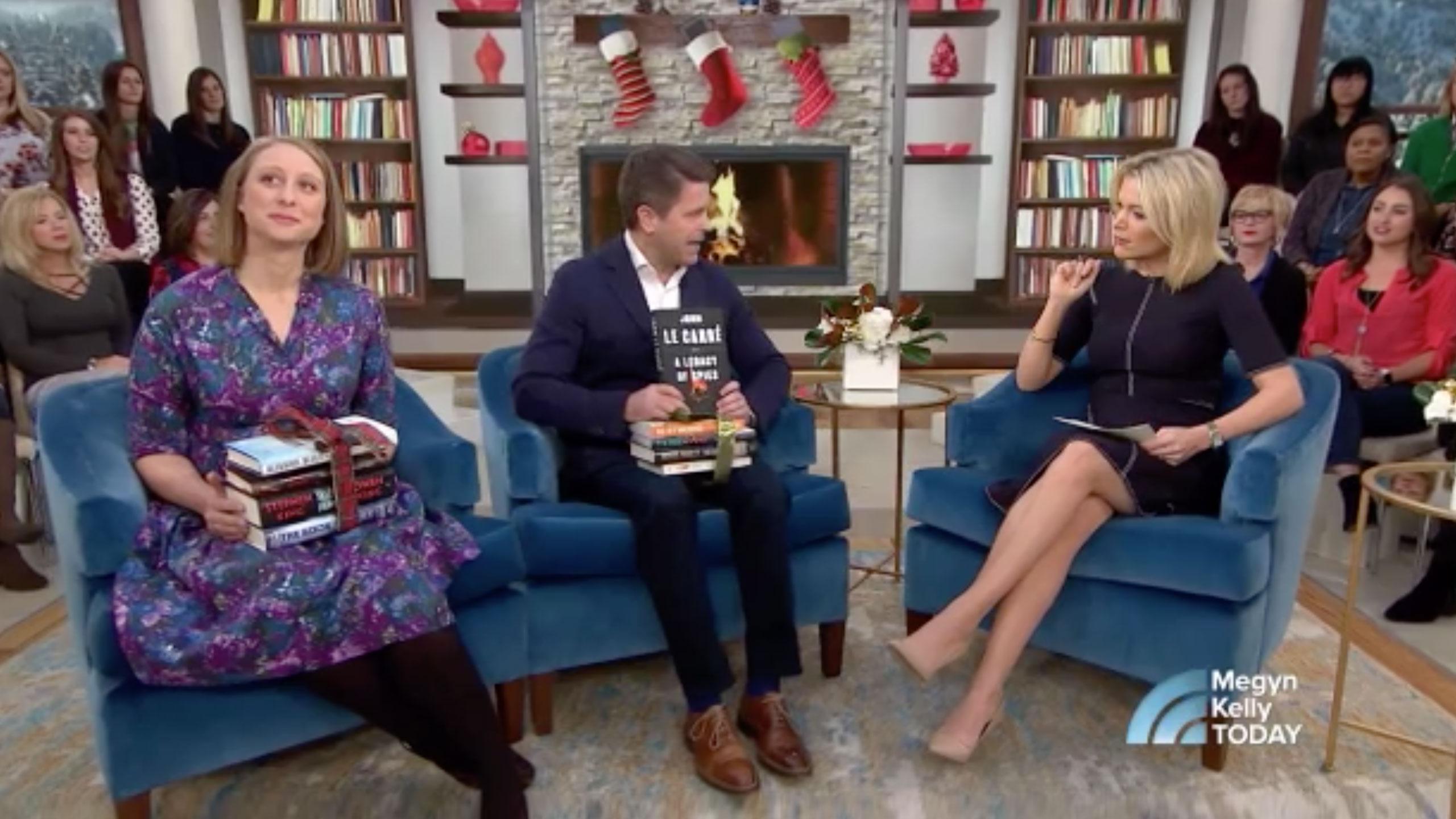 Brad talks best holiday books