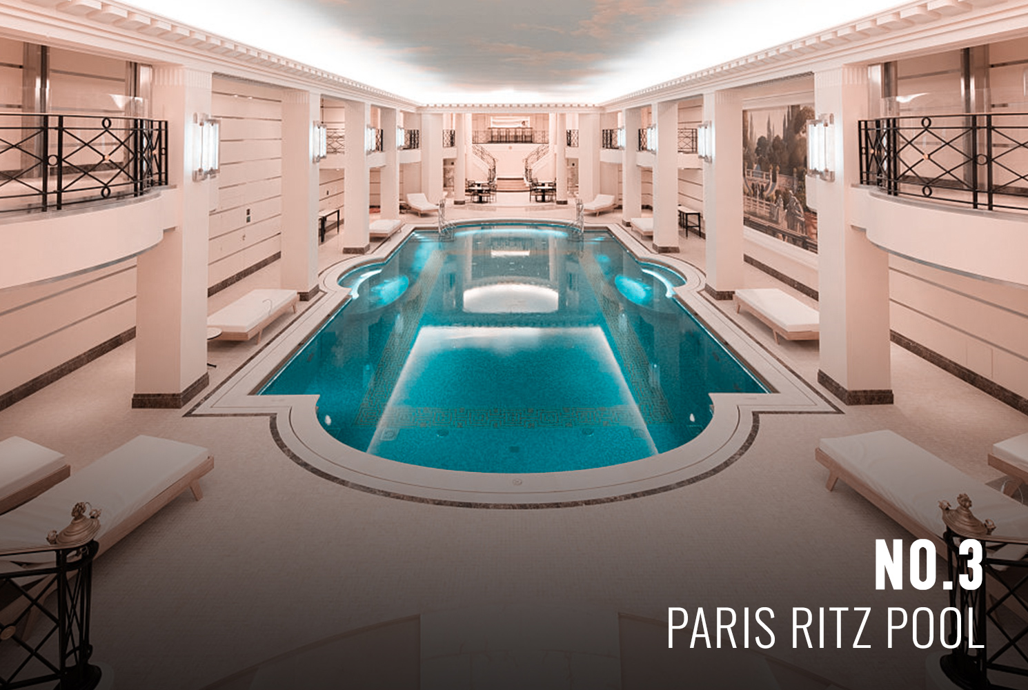 Paris Ritz Swimming Pool