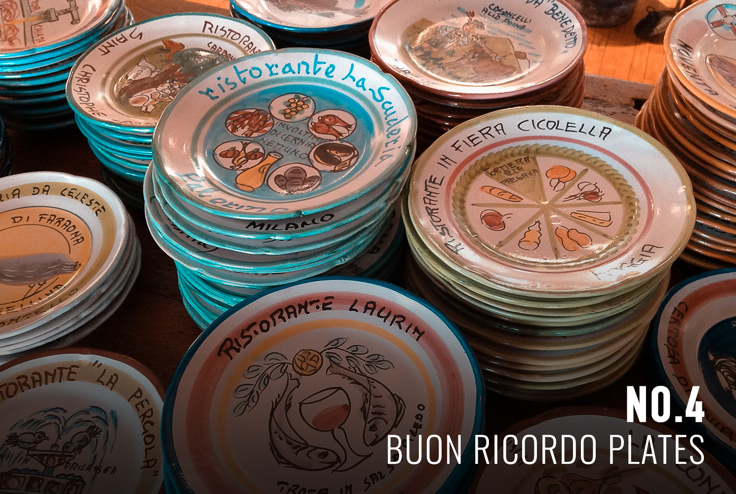 Plates of Buon Ricordo Restaurants