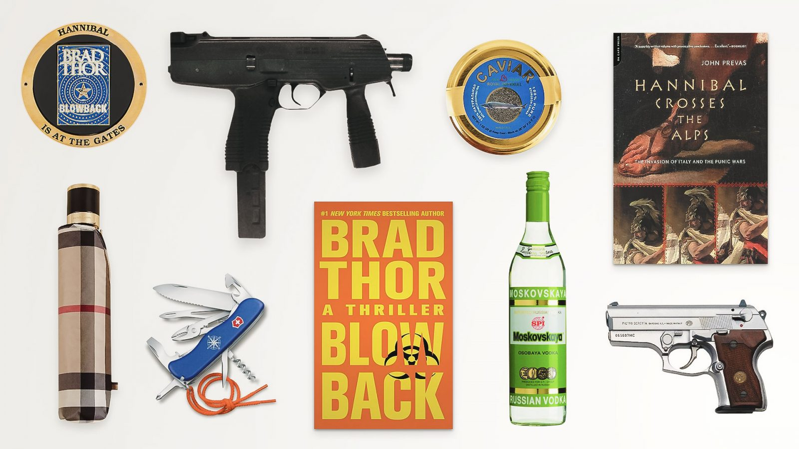 Top Gear from Blowback by Brad Thor