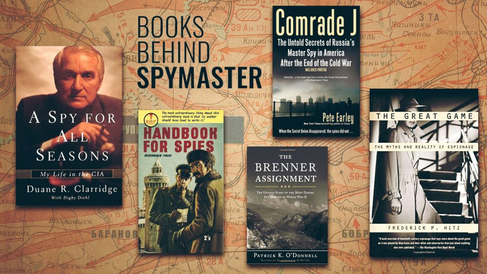 Books Behind SPYMASTER
