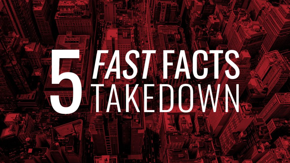 5 Fast Facts: TAKEDOWN