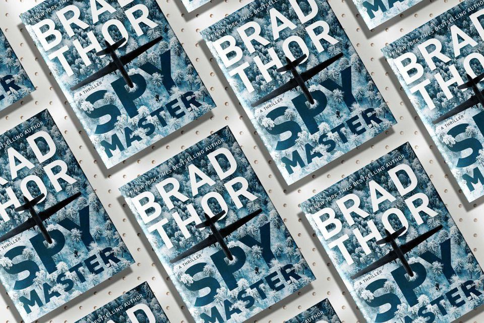 The Guns Of Brad Thor's 'Spymaster'