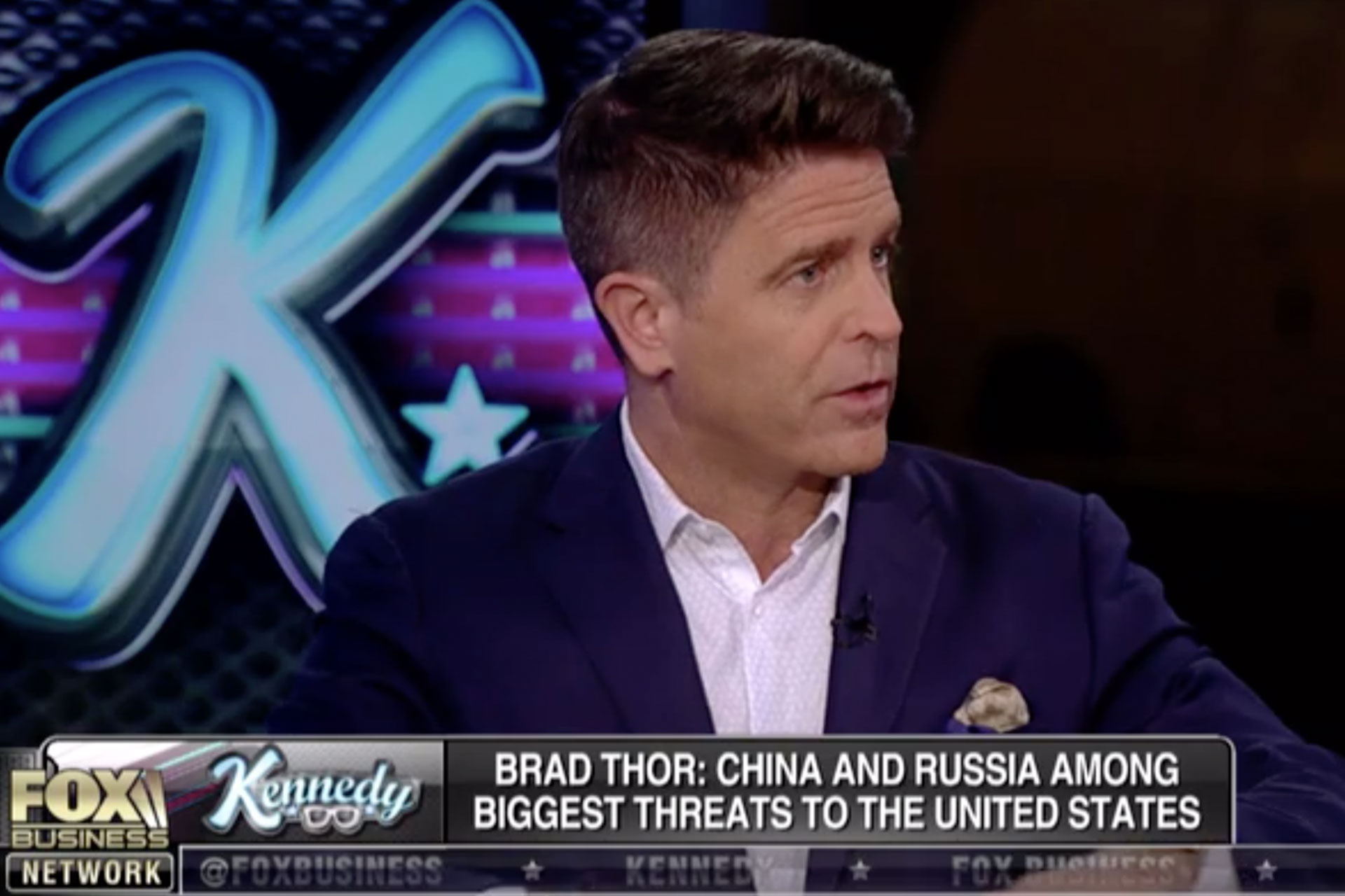 Brad discusses the greatest threat to the United States