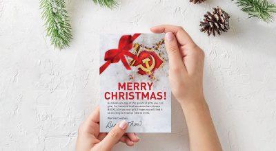 Exclusive BACKLASH Christmas Card
