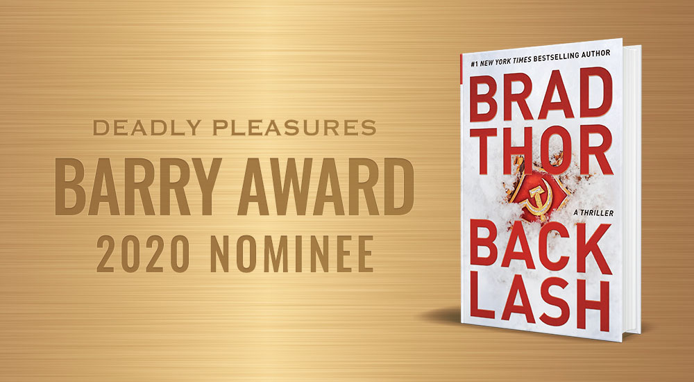 BACKLASH Nominated for a Barry Award