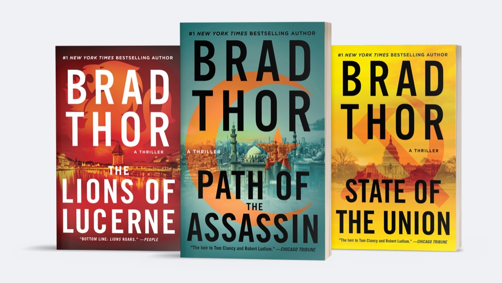 Do you remember these 3 Brad Thor books?