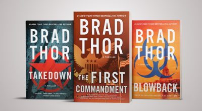 Three More Thrillers out With a New Look