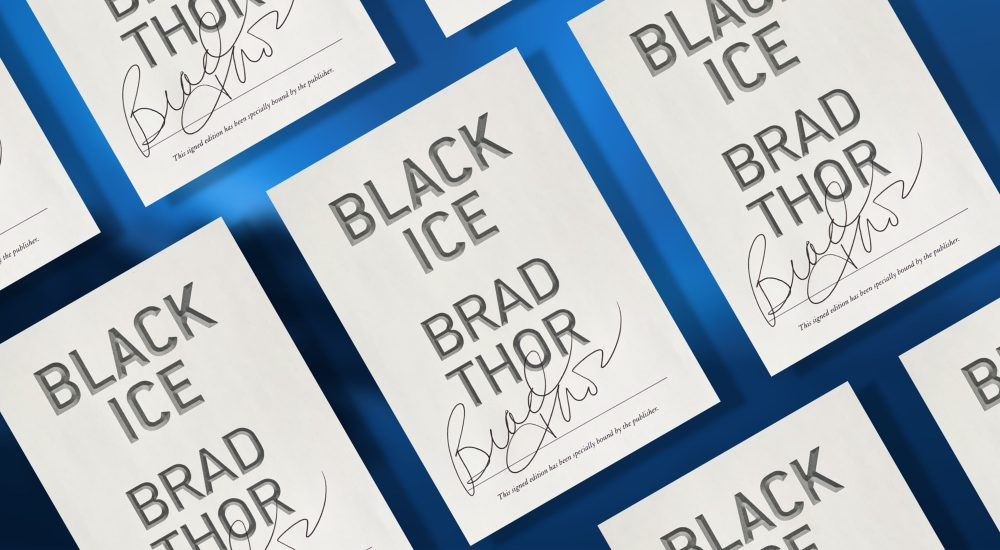 Signed Editions of BLACK ICE